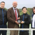 Teenage tennis coach Ewan McPhillips has won a prestigious regional award in recognition of his outstanding commitment to sport.