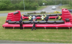 Image of Business games ultimate inflatable course