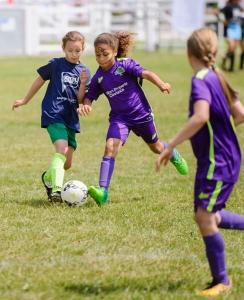 Hundreds of schoolchildren enjoy sun soaked day of sport