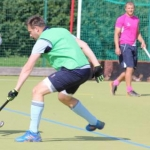 Chris Bryden playing Hockey