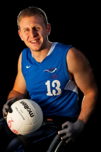 Aaron Phipps, GB Wheelchair Rugby Paralympian