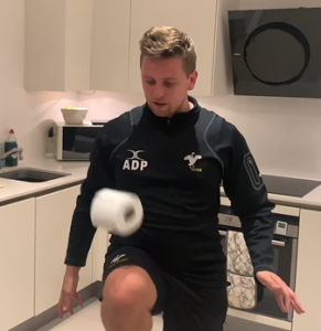 Toilet Roll Keepy ups